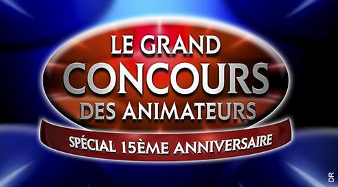 Le grand concours des animateurs du 28 mai 2016 : c'est le 15ème anniversaire.