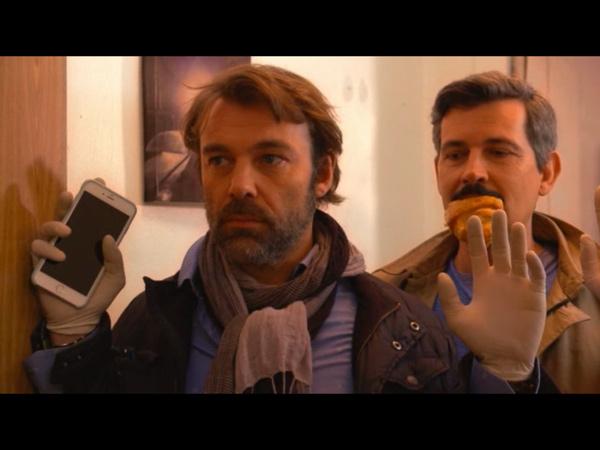 Nicolas et José pris en flag : José avec son croissant ;)