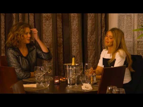 Le dîner de Johanna et Helene : un peu gênant l'ambiance ?