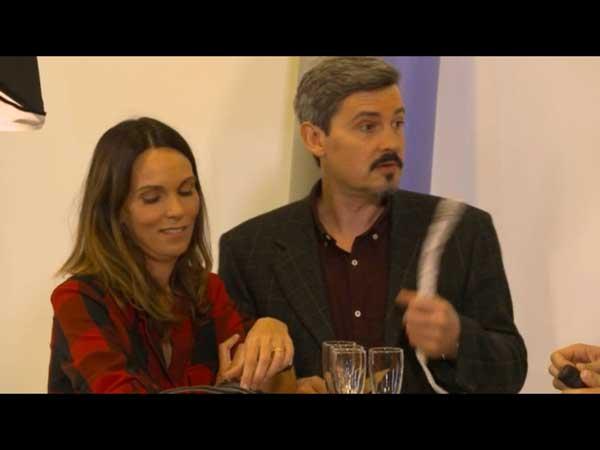 Cathy et José prêts à marier leur fils Julien : petit apéro avec Marie et Nicolas