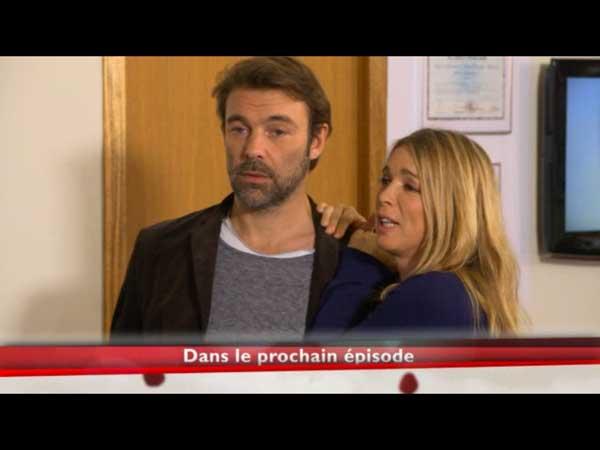 Hélène et Nicolas complices face à Peter