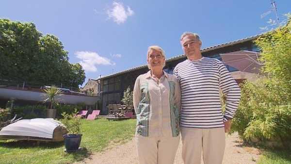 Vos avis et commentaires sur la maison d'hôtes de Nathalie et Etienne dans Bienvenue chez nous / Photo TF1