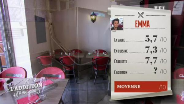 Emma peut-elle gagner l'addition SVP avec son bistronomique ?