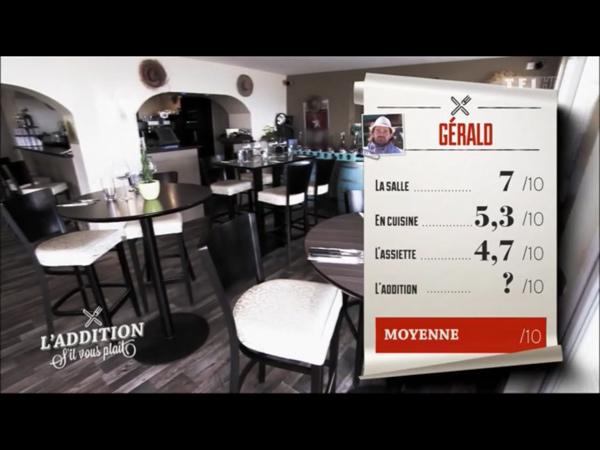 Les notes très justes pour le resto de Gérald en Bretagne