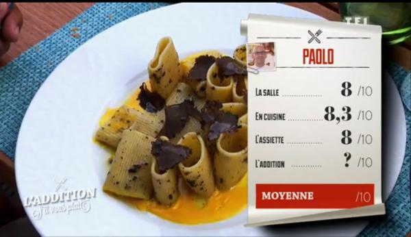 Les notes de Paolo peuvent faire de lui le gagnant de l'addition s'il vous plait!