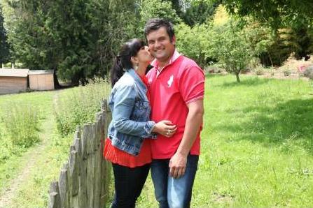 Pierre et Frédérique au bilan des 10 ans de l'amour est dans le pré