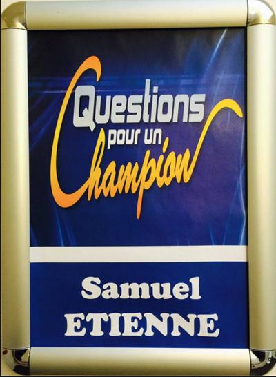 Samuel Etienne devient animateur de QPUC