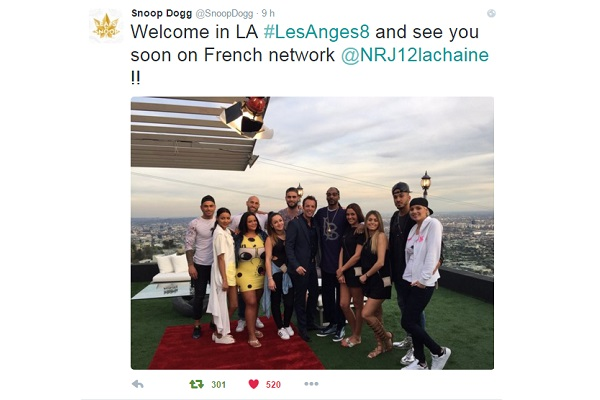 Snoop Dogg accueille Les Anges saison 8 à Los Angeles (@SnoopDogg)