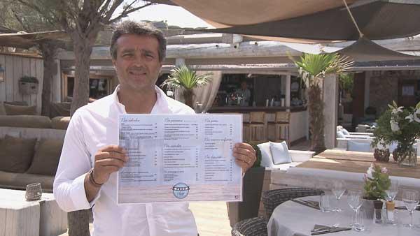 Avis et commentaires sur Stéphane dans l'addition s'il vous plait Cote d'Azur / Photo TF1