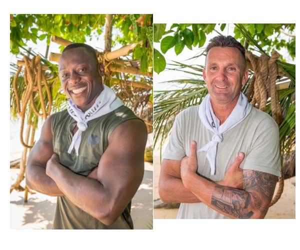 Vos avis sur Steve le beau black de Koh Lanta 2016 qui va vite se rendre indispensable et Pascal qui connait bien la nature / Photo TF1