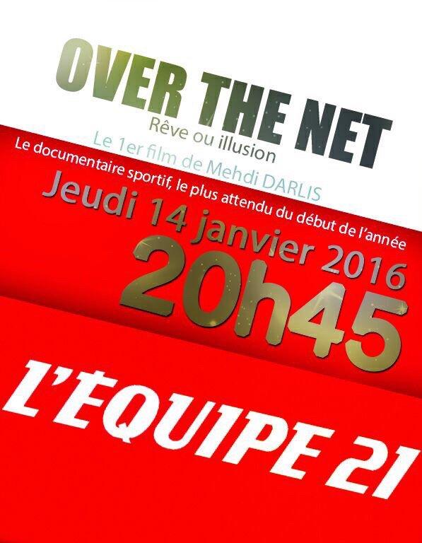 Vos avis et commentaires sur Over the net de L'Equipe 21