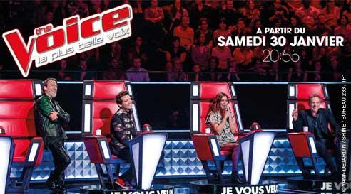 La nouvelle saison The Voice saison 5 arrive sur TF1 : mieux ou moins bien que l'an dernier ?