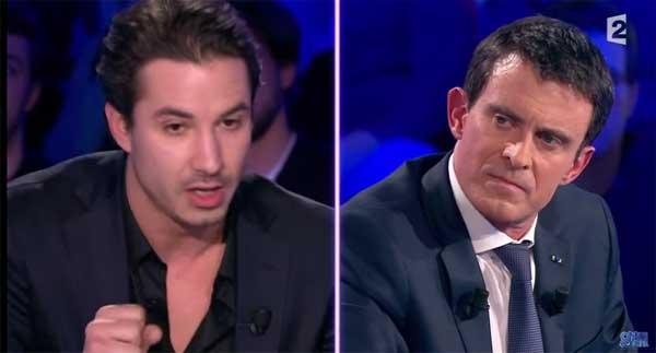 Manuel Valls vs Jéremy Ferrar le clash qu'on attendait pas dans #ONPC