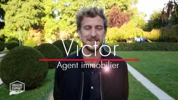 Avis et commentaires sur Victor dans chasseurs d'appart sur M6