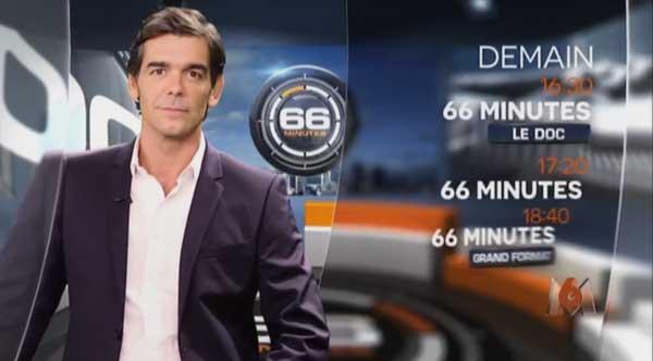 Quel sommaire pour 66 minutes sur M6 ? / Capture écran