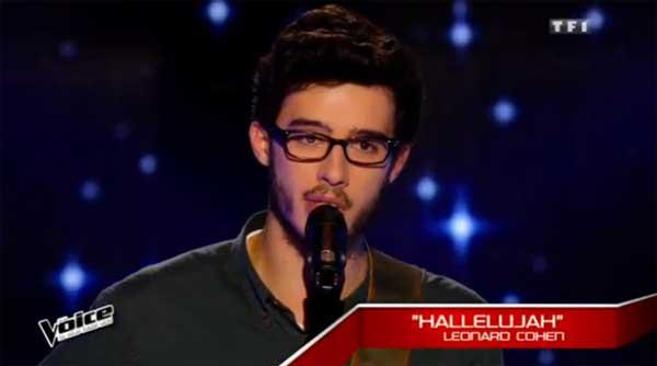 Succès pour Alexandre dans The Voice 2016