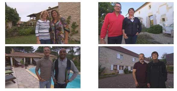 Les maison d'hôtes de la semaine et leurs propriétaires