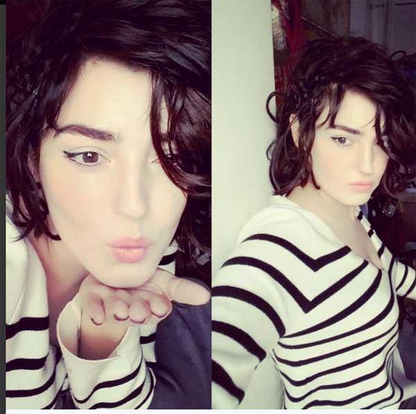 Nouveau look pour Charlie de Koh lanta : brune et cheveux presque courts : elle est jolie non? / Photo twitter