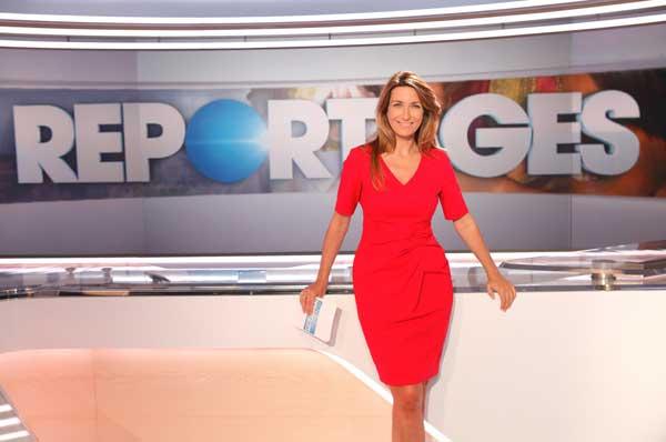 Anne Claire Coudray la journaliste de TF1 le week end