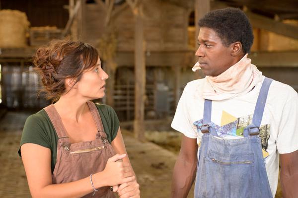 Vos avis sur le téléfilm Qui sème l'amour du 2 février avec Djibril et Julie / Photo Nicolas Robin-FTV