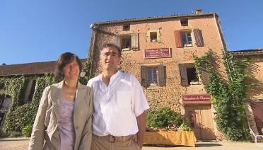 Passage en 2014 d'Emmanuelle et Rachid dans Bienvenue chez nous