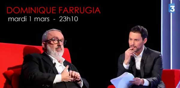 Avis et commentaire sur le Divan du 01/03/2016 avec Dominique Farrugia