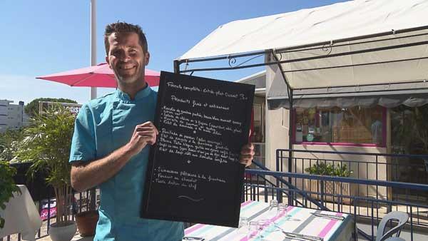 Avis et commentaires sur le restaurant de Gaël dans l'addition SVP de Camargue / Photo TF1
