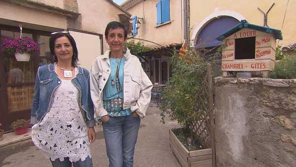 Avis et commentaires sur la maison d'hôtes d'Hélène et Cathy dans Bienvenue chez nous / Photo TF1