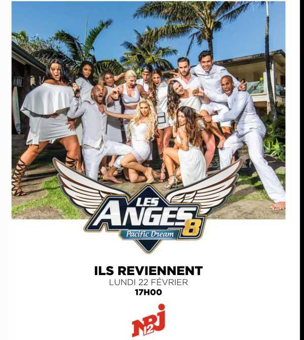 Avis et commentaires sur Les anges 8 de NRJ12 : casting, destinations, couples