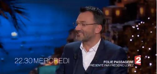 Nouvelle formule de Folie Passagère avec Frederic Lopez : vous aimez ?