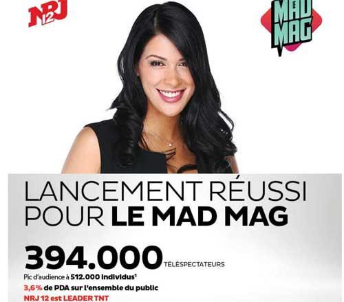 Audience réussi pour le lancement du Mad Mag : quelle audience pour la suite une fois l'effet de curiosité passé.
