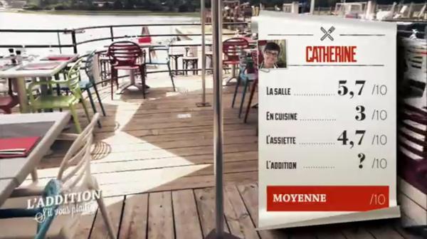 Catherine et son resto vont avoir du mal à remporter l'addition SVP