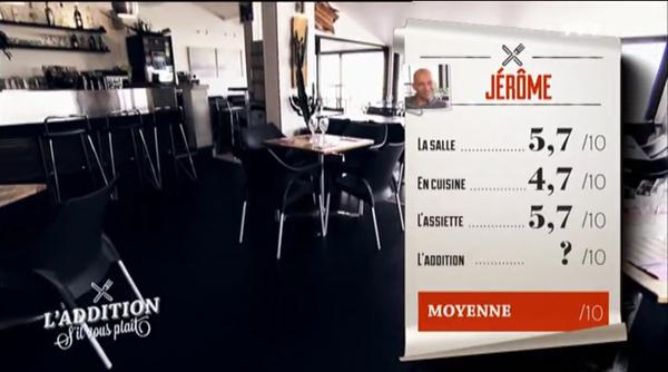 Le resto de Jérôme peut-il gagner avec ces notes très sévères ?