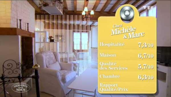 La maison d'hôtes de Michèle et Marc dans Bienvenue chez nous