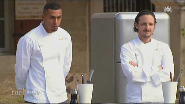 Wilfried vs Pierre dans  Top Chef 2016 : Wilfried part
