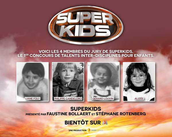 La photos des jurés Superkids de M6 quand ils étaient enfants