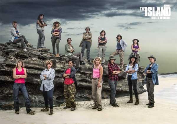 Photo des candidates femmes de The Island saison 2 (édition 2016) de M6