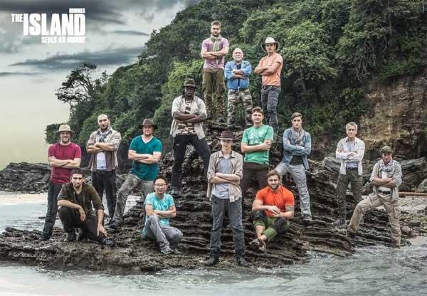 Photo des candidats  hommes de The Island saison 2 (édition 2016) de M6