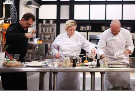 Avis et commentaire sur l'épisode Top Chef du 22 février 2016 / Crédit : PIERRE OLIVIER/M6