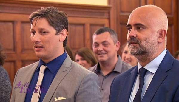 Que pensez-vous du mariage de Tony et Nicolas dans 4 mariages ?