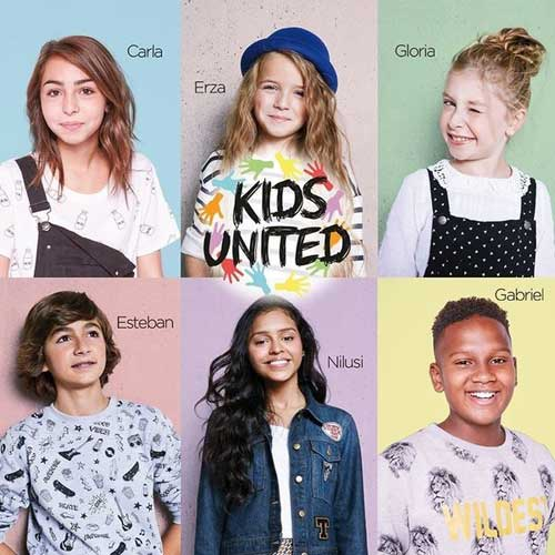 Les Kids United stars de W9