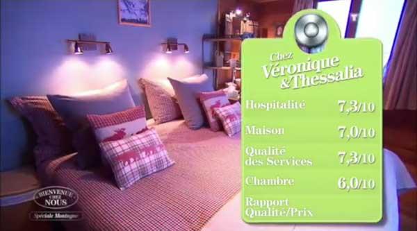 Les bonnes notes de Véronique et Thessalia de Bienvenue chez nous !