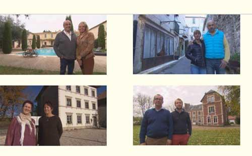Les maisons d'hôtes de al semaine de #BienvenueChezNous