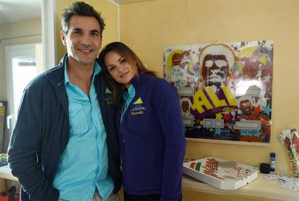 Amandine et Xavier le couple craquant de #CampingParadis