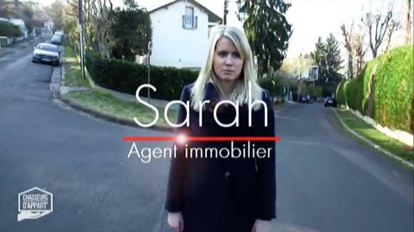 Vos avis sur Sarah de Chasseurs d'appart de M6