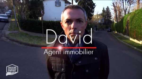 Vos avis sur David de Chasseurs d'appart de M6