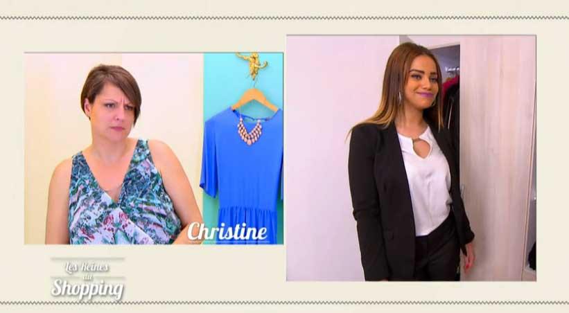 La compétition Nacera et Christine dans les reines du shopping !