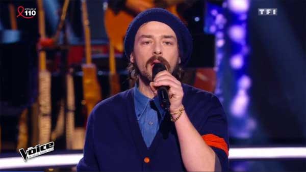 Clément Verzi continue The Voice