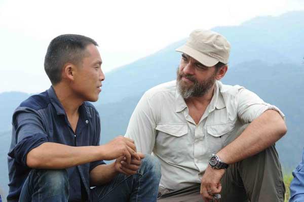 Réagissez à RDV en terre inconnue et Clovis Cornillac en Chine / Credit : © Jean Michel TURPIN / Adenium
