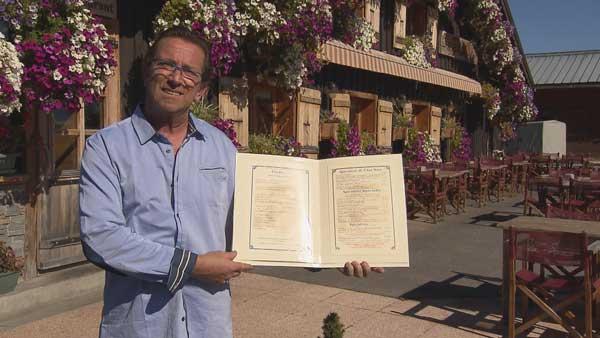 Avis et commentaires sur le restaurant de montagne de Gilles dans l'addition SVP